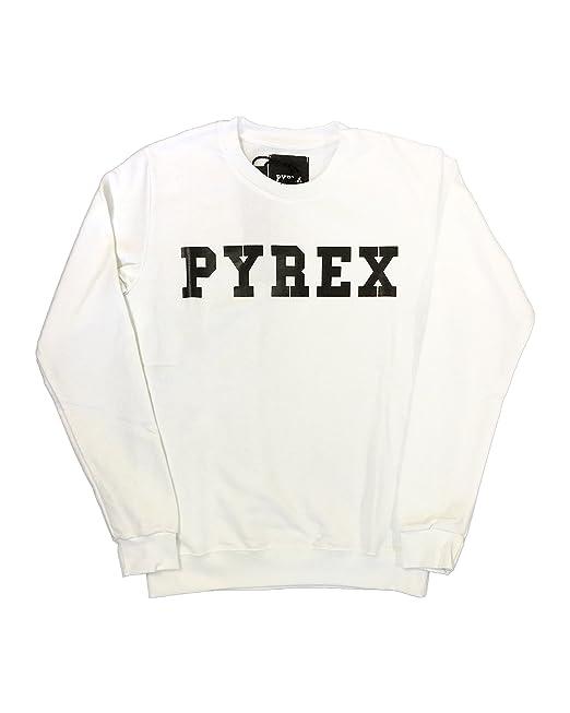 6fc7f41b26c58c Felpa uomo Pyrex girocollo con scritta: Amazon.it: Abbigliamento