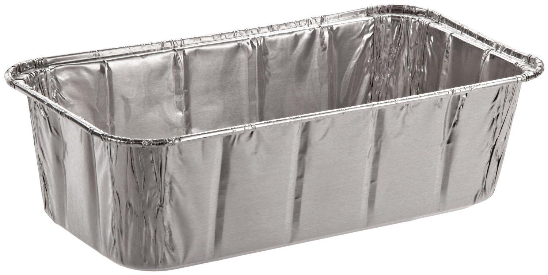 SafePro Foil Loaf Pan, 2 lb. (Case of 200), Baking Foil Pans Disposable