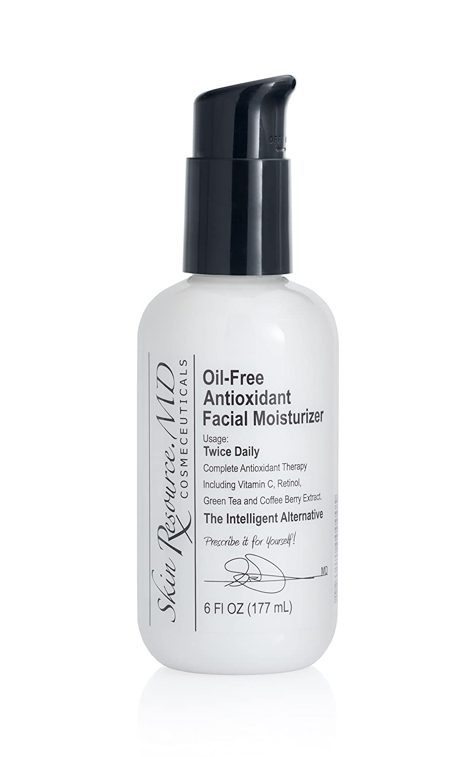 Skin Resource.MD Oil-Free Antioxidant Facial Moisturizer - Highest Rating by Dermatologists #1