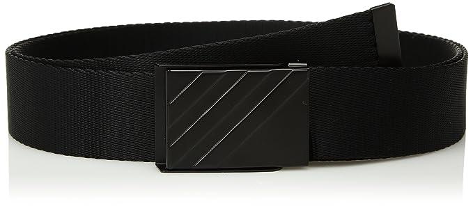 6c9a1fbc1808d5 Amazon.com: adidas CF8203 Golf Men's Webbing Belt, Black, One Size ...