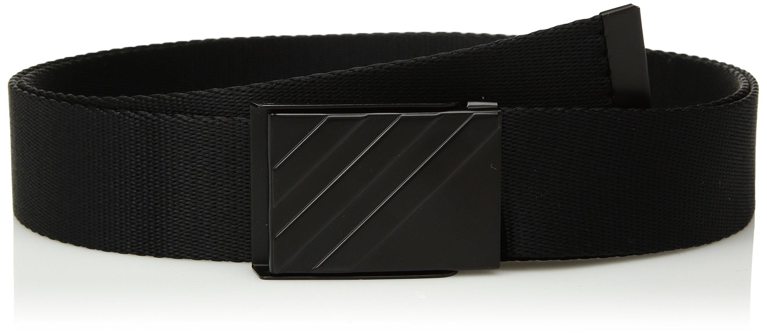 adidas Golf Men's Webbing Belt, Black, One Size