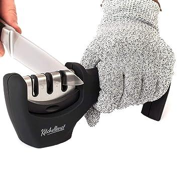 Angker afilador de cuchillos, herramienta de afilado manual ...