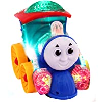 ASPIRE Musical Thomas Engine with Lights, Bump and go Action, Funny Loco (Multicolor) (Thomas Train)