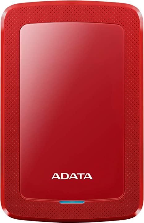 ADATA HDD Ext HV300 4TB Red - Disco Duro Externo (4000 GB, 2.5