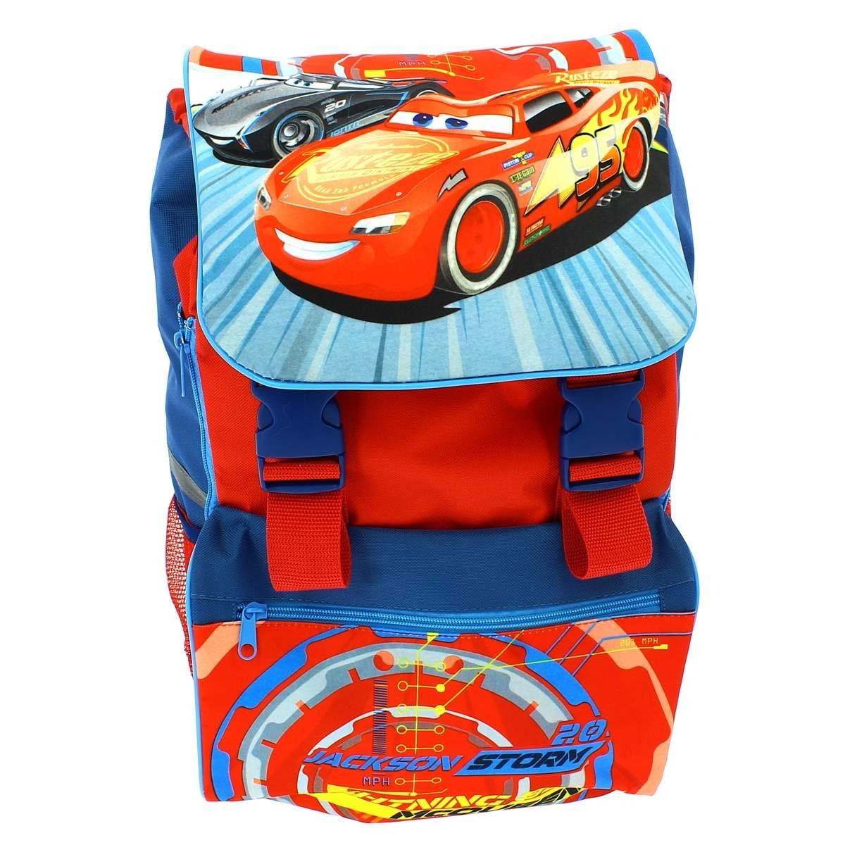 f321b80337c8fb Cars - Zaino Italiana con Astuccio Triplo, Kids Euroswan cr17451:  Amazon.it: Giochi e giocattoli