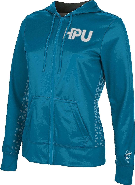 School Spirit Sweatshirt ProSphere Hawaii Pacific University Womens Zipper Hoodie Geo
