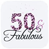 3dRose cst_162613_2 50 and Fabulous-Fun Girly