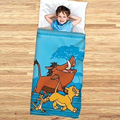 Disney The Lion King Slumber Bag and Cozy Cover: Sports & Outdoors