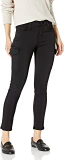 product image for James Jeans Women's Twiggy Skinny Ankle Cargo Jean Black
