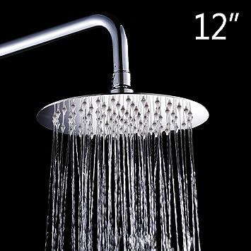 Regendusche Regenbrause Kopfbrause Brausekopf Duschkopf Rain Shower in Silber