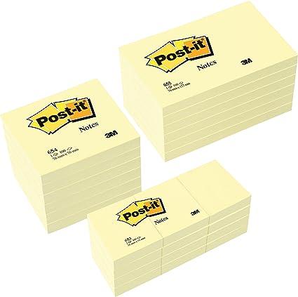 Post-It Valor-Pack 6X 12X 655 653 gratuito: Amazon.es: Oficina y ...