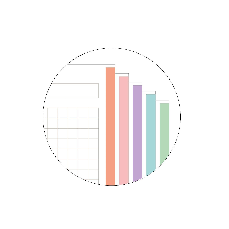 Miquelrius Emotions Bloc Recambio 5 colores Pastel 100 hojas 90 gramos