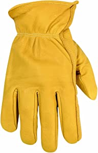 CLC Custom Leathercraft 2060L Top Grain Goatskin Work Gloves, Large