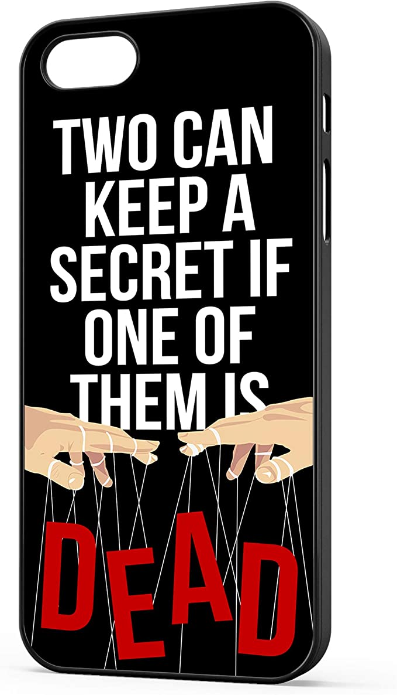 Pretty Little Liars Coque iPhone – Citation – Deux peut garder un ...
