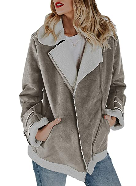 hot sale online 5501d 90f59 ShallGood Donna Cappotto Parka Slim Fit Collo di Pelliccia ...