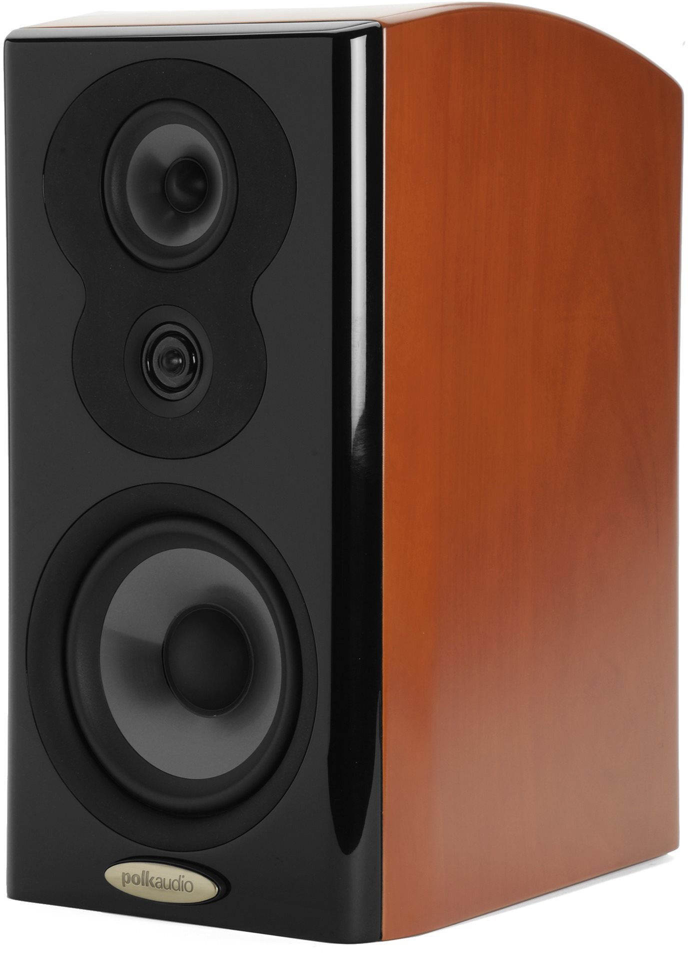 Polk Audio LSiM 703 MVC Mt. Vernon Cherry Bookshelf Loudspeaker (Single)