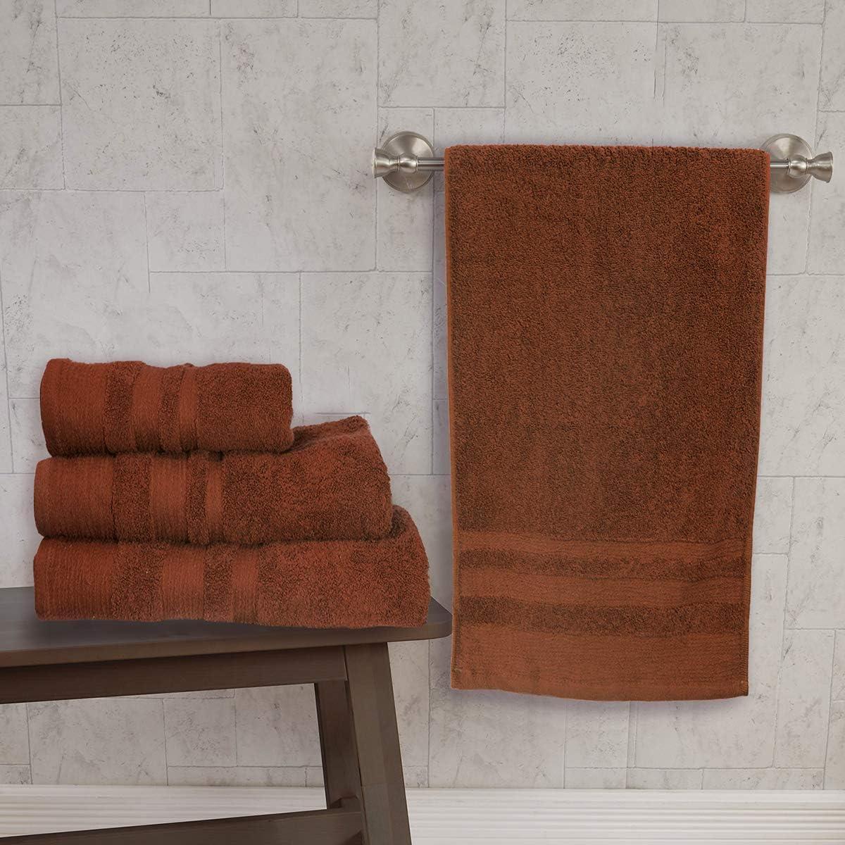 my cotton home Asciugamani Morbidi 100/% Cotone Egiziano Telo Bagno 70 x 140 cm Copper Tan 700 g//mq