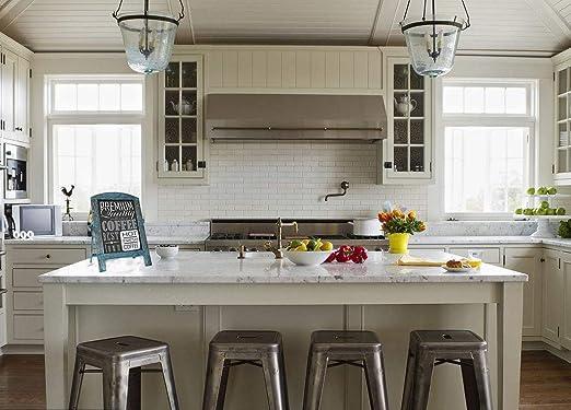 Pizarra de cocina con marco de mesa pequeño, estilo vintage ...