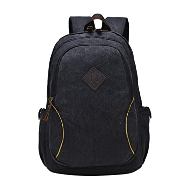 Amazon.com | E-Clover Cool Book Bags For College Best Canvas ...