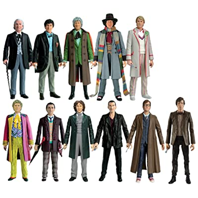 """Doctor Who 11 Doctors 5"""" Action Figure Collector Set: Toys & Games"""