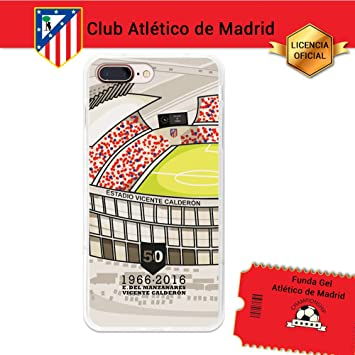 Funda Gel Flexible Atlético de Madrid para iPhone 7 Plus ...