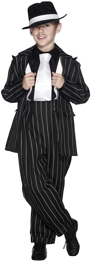 1920s Children Fashions: Girls, Boys, Baby Costumes Child Gangster Zoot Suit Costume $53.20 AT vintagedancer.com