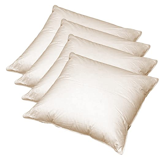 2 opinioni per 4 x cuscini in piuma per divano 40x40 cm (vera piuma) robusti e stabili nella
