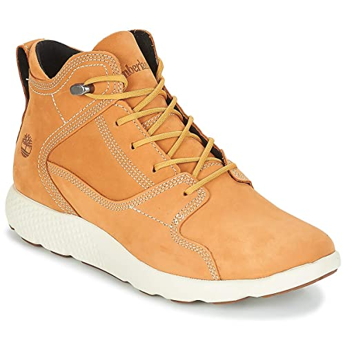 TIMBERLAND FlyRoam Leather Hiker Botines/Low Boots Hombres Trigo - 45 - Botas de caña Baja: Amazon.es: Zapatos y complementos