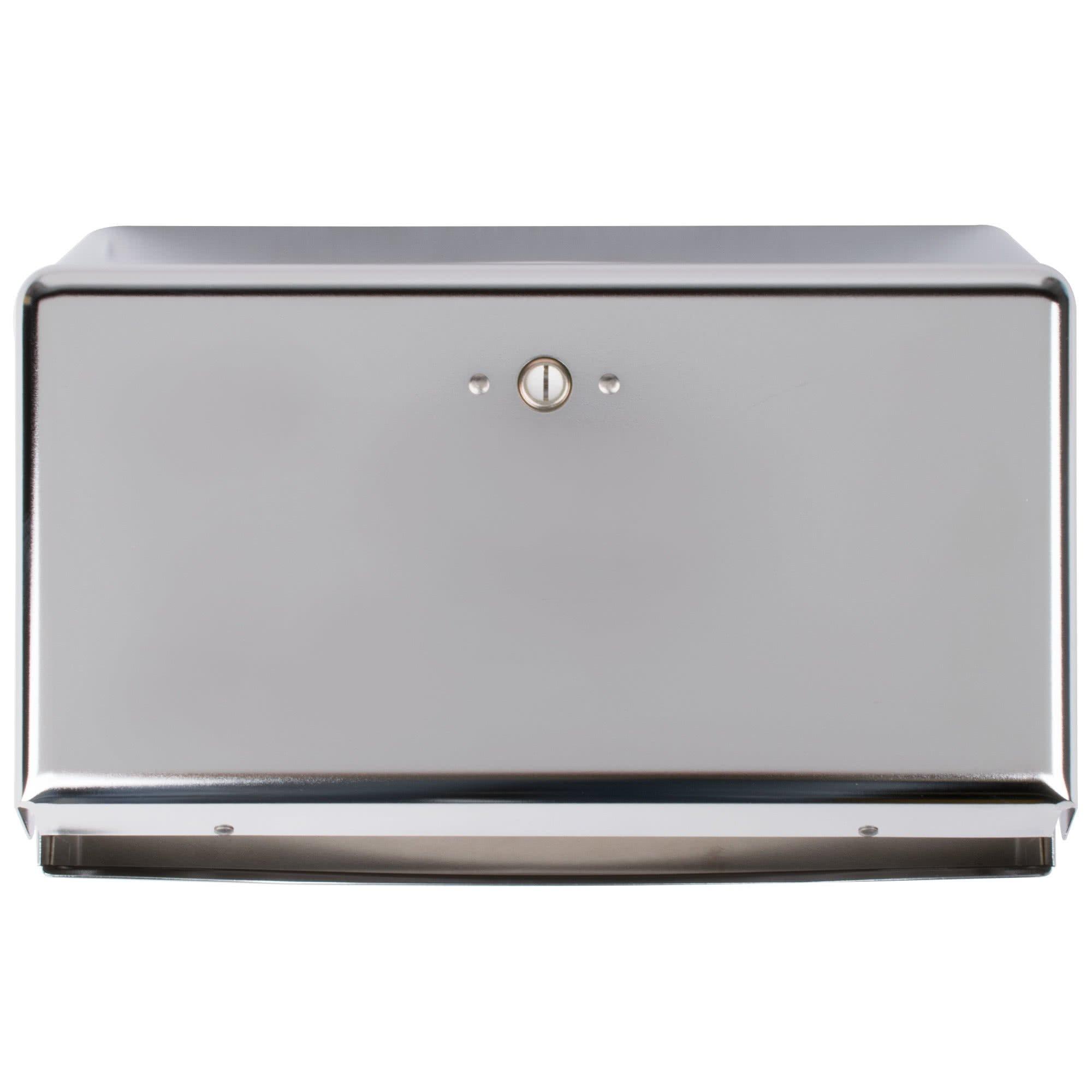 TableTop King T1950XC Chrome Mini C-Fold / Multi-Fold Towel Dispenser