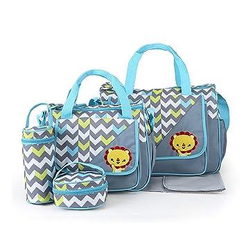 Amazon.com: 5 bolsas para pañales de bebé para mamá ...
