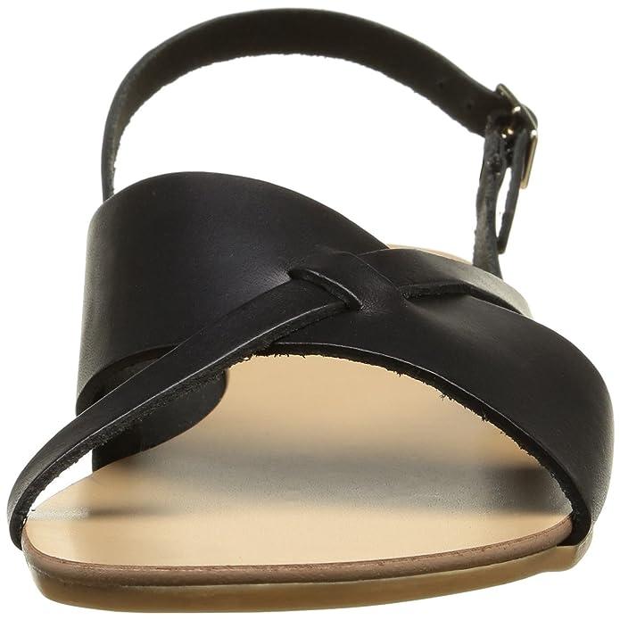 PIECES Damen Psjoyce Leather Sandal Black Slingback: Amazon.de: Schuhe &  Handtaschen