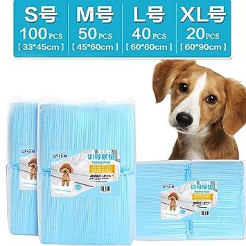 shanzhizui Pañales para Perros 100 Desodorización Almohadilla de orina para Perros Pañales para Mascotas Suministros para