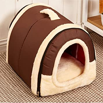 Picturer7 Cama para Mascotas, acogedora, 2 en 1, casa para Mascotas y sofá