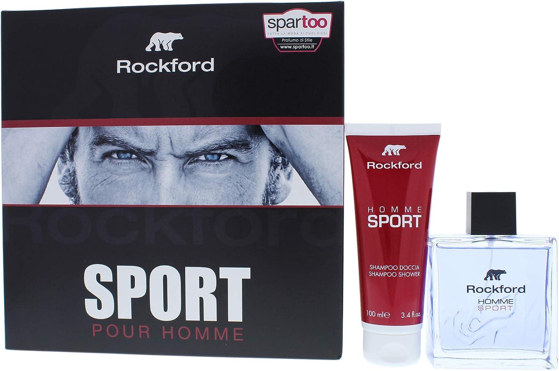 Rockford - Estuche para hombre, perfume de 50 ml + leche corporal de 100 ml: Amazon.es: Belleza