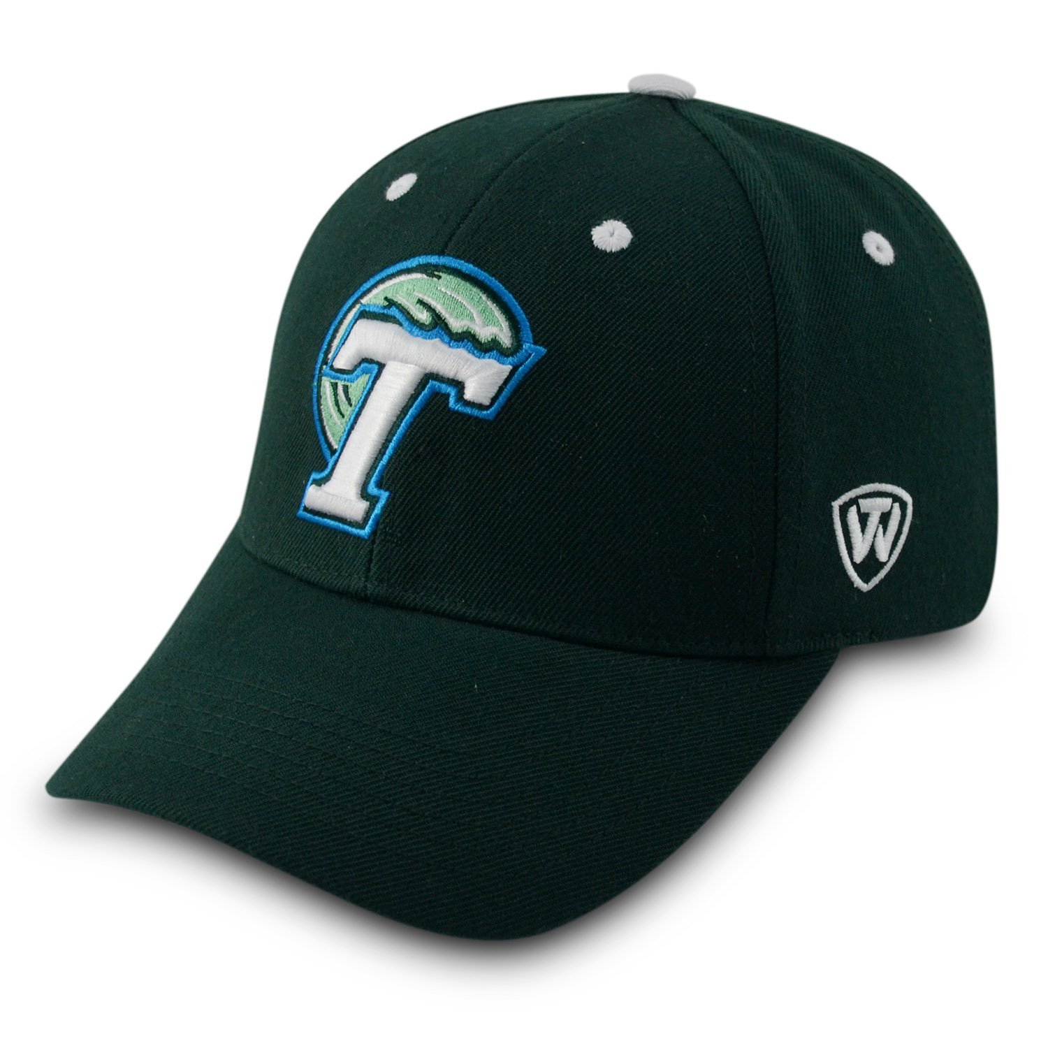 Top of the World Tulane Green Wave Triple Threat帽子グリーン   B07CT61N8D