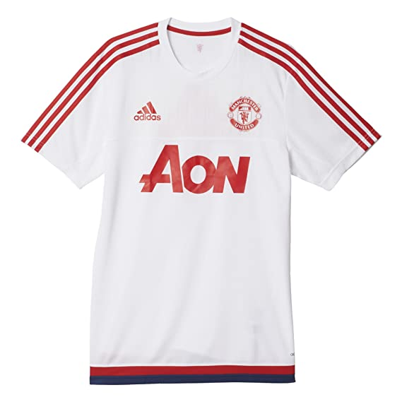 295c7c37d4f Buy Adidas Men s AC1970 Manchester United Football Soccer Training Jersey  Shirt (White