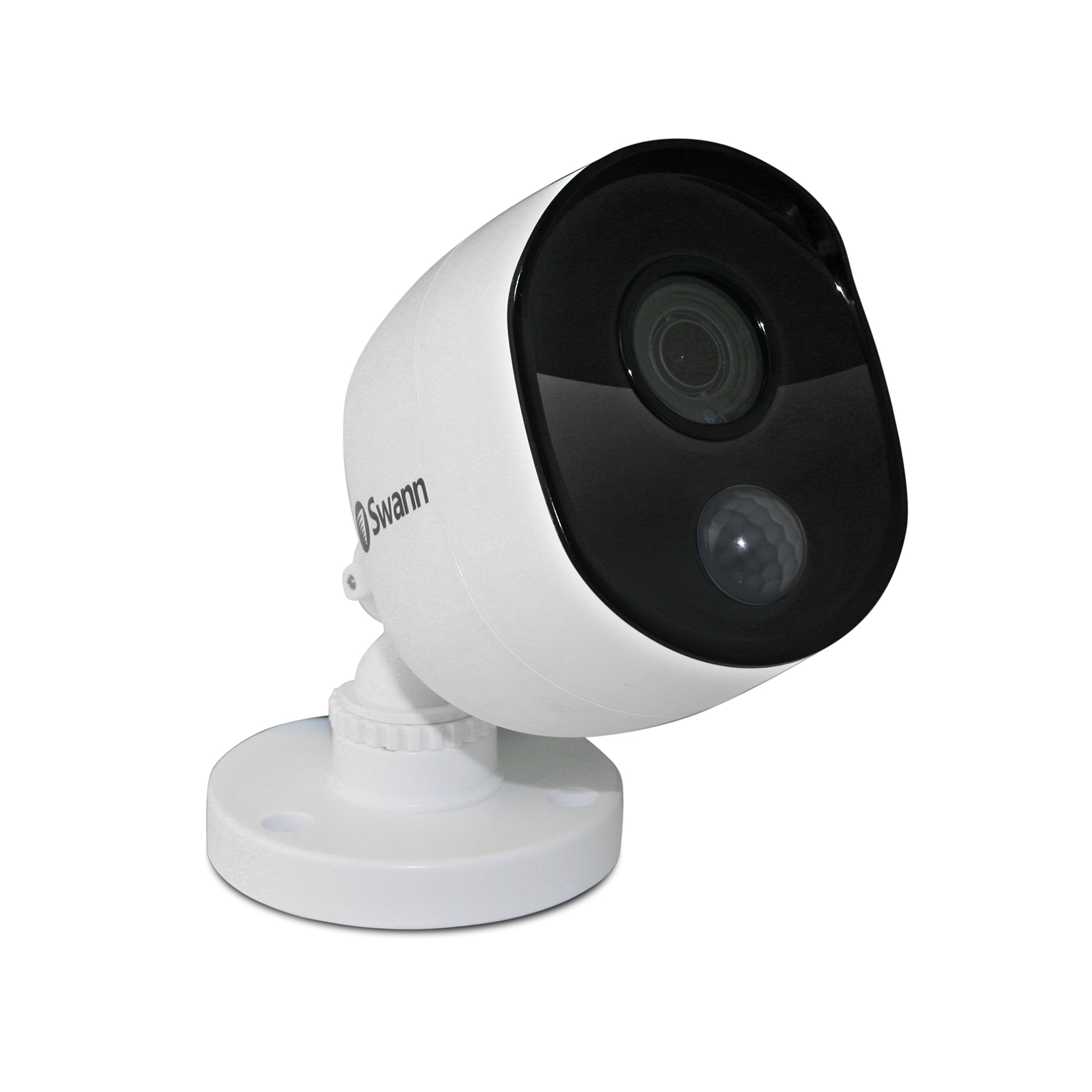 Swann Wired PIR Bullet Security Camera, 1080p Full HD Surveillance Cam with Infrared Night Vision, Indoor/Outdoor, Thermal, Heat & Motion Sensing, Add to DVR, SWPRO-1080MSB by Swann