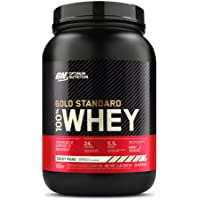 Optimum Nutrition Gold Standard 100% Whey Protein Powder, Rocky Road, 2 Pound (Packaging May Vary)