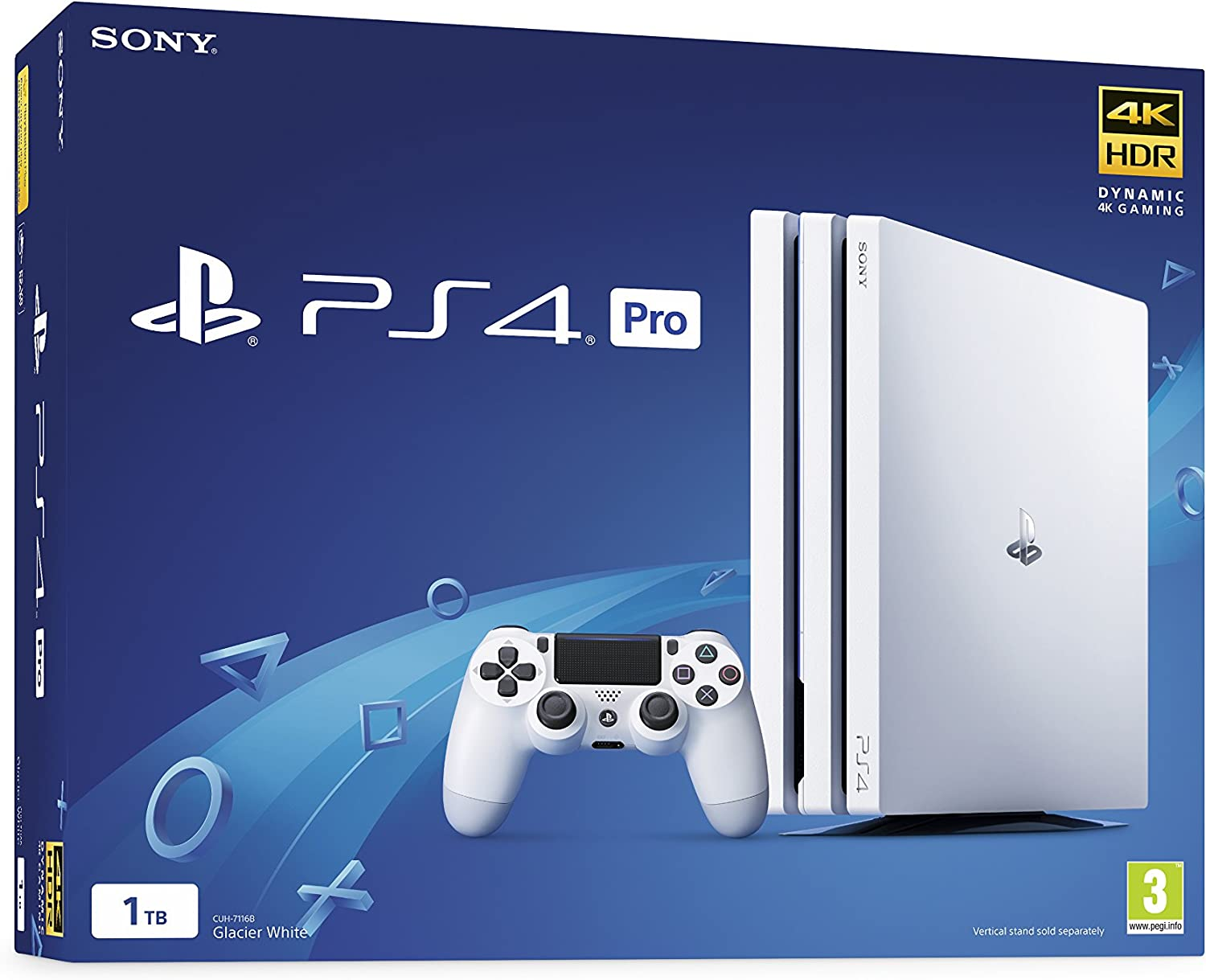 Amazon.com: Sony PlayStation 4 Pro 1TB White (PS4): Video Games