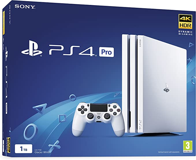 Sony PlayStation 4 Pro 1TB White - PlayStation 4 [Importación ...