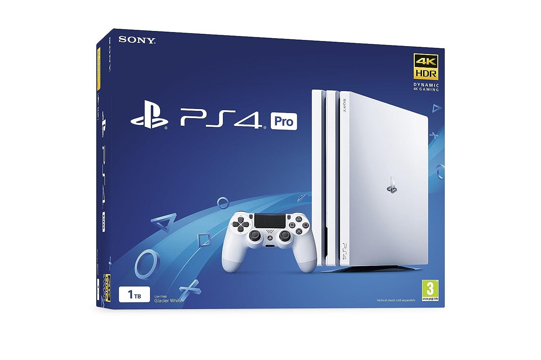 Sony PlayStation 4 Pro 1TB White - PlayStation 4 [Importación ...