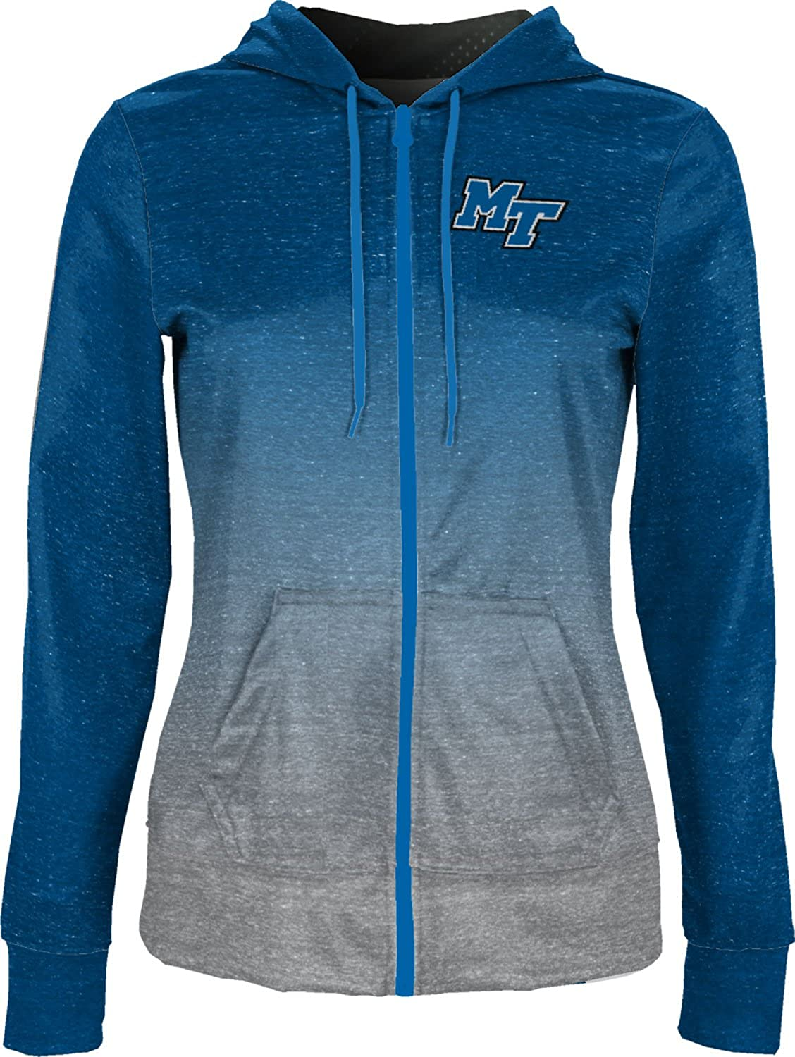 ProSphere Middle Tennessee State University Girls Pullover Hoodie Ombre School Spirit Sweatshirt