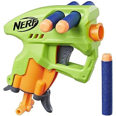 Nerf N-Strike NanoFire (green): Toys & Games