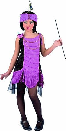 Limit Sport - Disfraz de Charlestón para niña, color morado (MI683 ...