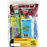 Rain Poncho Disposable 10 Pack Waterproof Adult Ponchos Clear Emergency Rain...