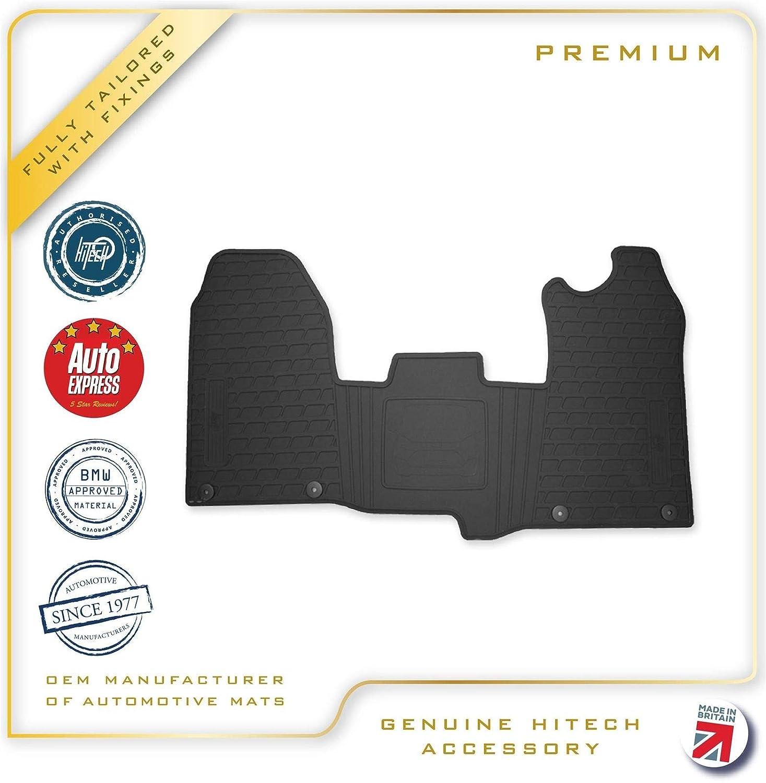 Genuine Hitech OEM Fully Tailored Premium Rubber Car / Van Mats with Clips (OEM Design)