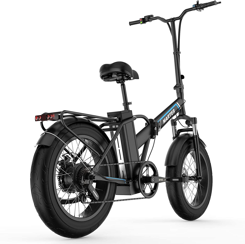Bicicletta Elettrica Pieghevole 1000W 46km//h Ruote Larghe 20 x 4 Pollici Mountain Bike City Ebike Bici a Pedali in Alluminio da Spiaggia Neve All-Terrain con Shimano 7 Velocit/à EU STOCK Display LCD