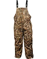 Burly Waterfowl Camo Waterproof Breathable Insulated Bib Overall