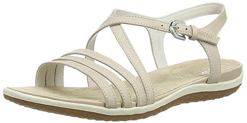 Geox Sandal Vega - Sandali punta aperta Donna amazon-shoes beige Estate Buscando En Línea Barata Manchester Gran Venta Para La Venta Venta Barata Envío Libre TOU4NMqXDW