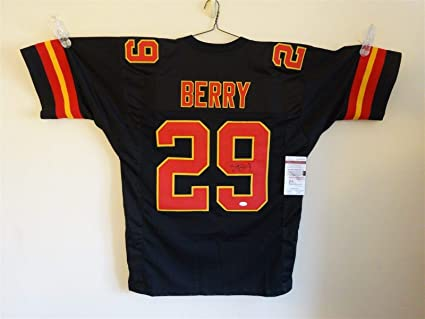 best loved 21a3d 4866d ERIC BERRY SIGNED AUTO KANSAS CITY CHIEFS BLACK JERSEY JSA ...